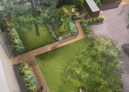 Davis Landscape Architecture MHT House Crescent Residential Landscape Architects Play Area Visualisation Planning