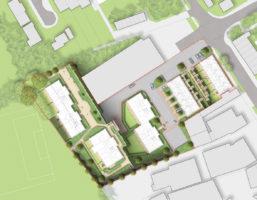 0389 Davis Landscape Architecture The Dean Alresford Hampshire Residential Landscape Architect Design Detailed Planning Render Plan
