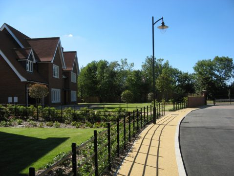 Davis Landscape Architecture Pieris Place Bulphan Essex Complete Retained Frontage Residential Landscape Architect Design Green Belt