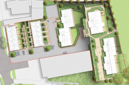 Davis Landscape Architecture The Dean Alresford Hampshire Residential Landscape Architect Design Detailed Planning Render Plan