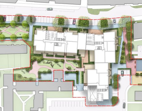 Davis Landscape Architecture Gascoigne West Barking London Residential Masterplan Landscape Architect Design Outline Planning Render Detail 3