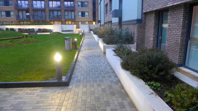 Davis Landscape Architecture Marine Wharf Bermondsey London Residential Landscape Architect Design Podium Deck PlayConstruction