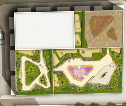 Davis Landscape Architecture Edgware Road Colindale London Render Plan Residential Landscape Architect Design Planning Green Roof
