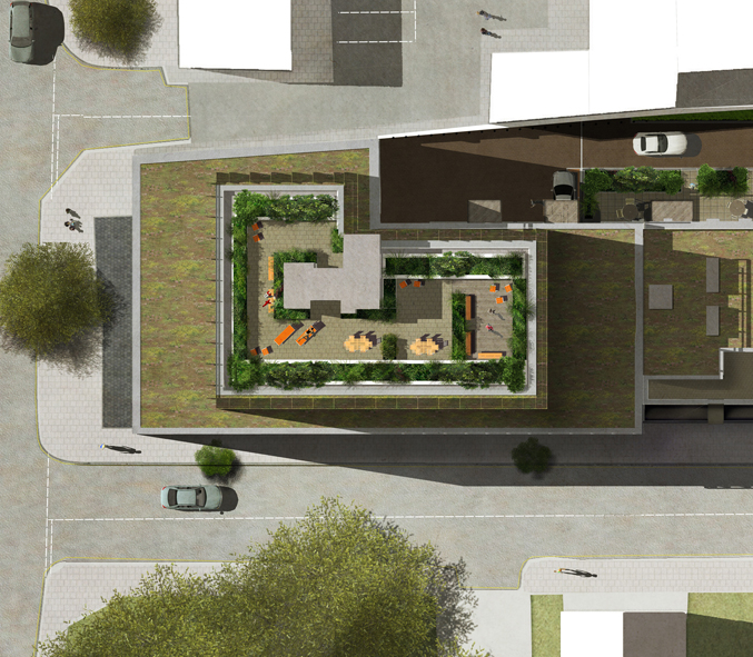 Architect 3d Garden And Exterior 20: Davis Landscape Architecture Harper Road Borough