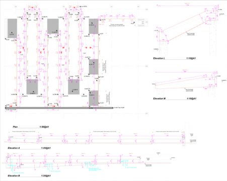 Davis Landscape Architecture London Wall Place Public Realm Landscape Architect Construction Setting Out