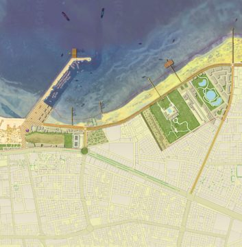 Davis Landscape Architecture Al Wakrah Waterfront Competition Qatar Masterplan Landscape Architect Masterplan B