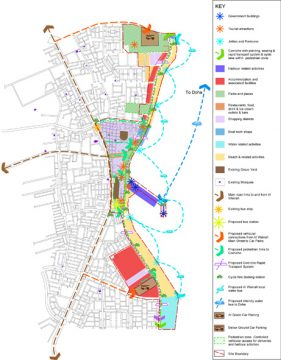 Davis Landscape Architecture Al Wakrah Waterfront Competition Qatar Masterplan Landscape Architect Strategic Masterplan