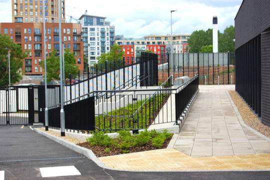 Davis Landscape Architecture Rowan House Driving Academy Colindale Barnet London Landscape Architect Commercial Design Complete Entrance Area