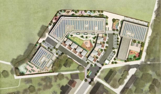 Davis Landscape Architecture London Road Wembley Brent London Render Masterplan Residential Landscape Architect Design Planning
