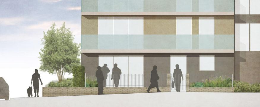 Davis Landscape Architecture Summit Court Kilburn Brent London Residential Landscape Architect Design Planning Section