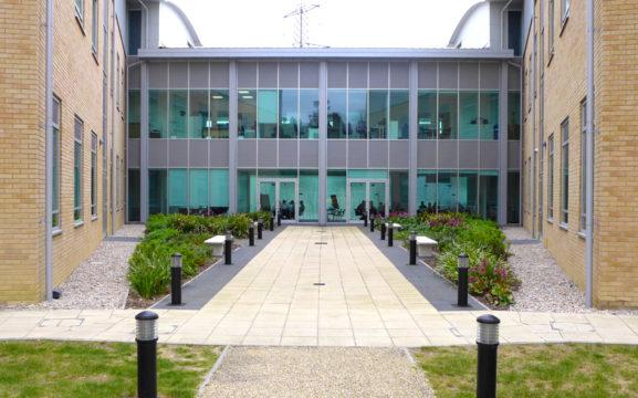 Davis Landscape Architecture Chesterford Research Park Robinson Building Essex Office Laboratory Landscape Architect Break Out Space