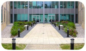 Davis Landscape Architecture Chesterford Research Park Robinson Building Essex Office Laboratory Landscape Architect Break Out Space Icon