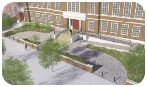 Davis Landscape Architecture Maritime House Clapham London Render Visualisation Office Landscape Architect Design Icon