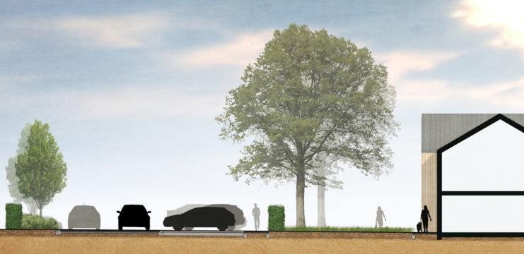 Davis Landscape Architecture Evolve Colchester Essex Render Section Office Landscape Architect Design 1