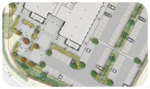 Davis Landscape Architecture Maurice Wilkes Building Cambridge Office Landscape Architect Design Planning Icon
