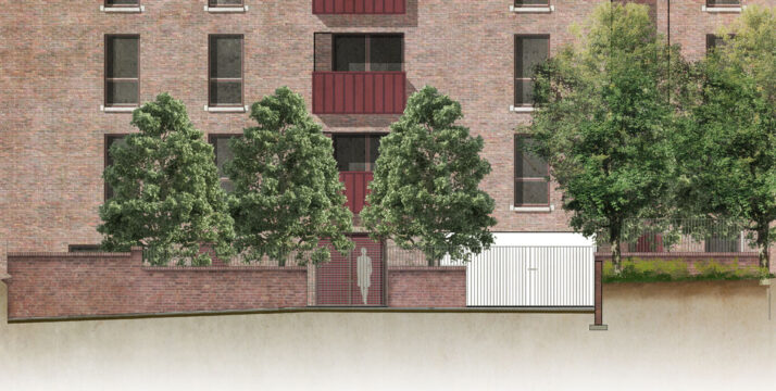 Davis Landscape Architecture Leyton Green Road Walthamstow Render Elevation Residential Landscape Architect Design