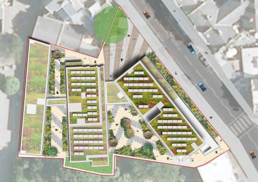 Davis Landscape Architecture Ravenscourt House London Student Accommodation Landscape Architect Plan Planning