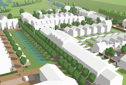 Davis Landscape Architects Star Lane Ph 1 Great Wakering Home Zone Residential Landscape Architect Design Rendered Concept Visualisation