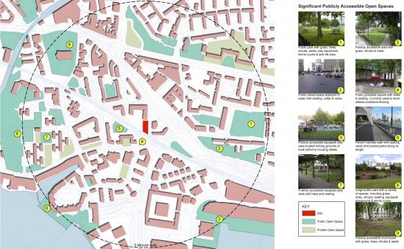 Davis Landscape Architects Salter Street London Mixed Use Landscape Architect Open Space Assesment