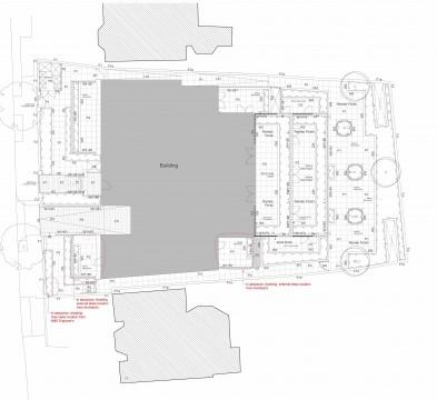 Davis Landscape Architects The Grove London Residential Landscape Design Architect Roof Garden Technical Plan