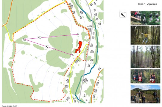 Davis Landscape Architects Hotel Neptune Czech Republic Landscape Architect Design Concept Proposal ZipWires