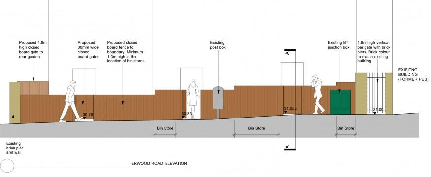 Davis Landscape Architects Little Heath Residential Landscape Design Architect Section Planning
