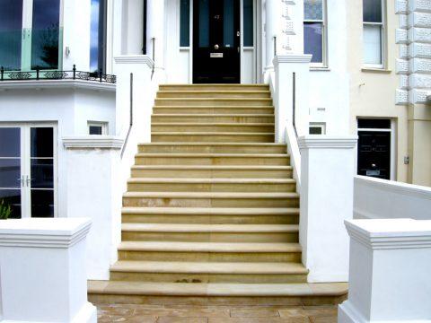 Davis Landscape Architecture Belsize Park London Residential Landscape Architect Entrance Steps