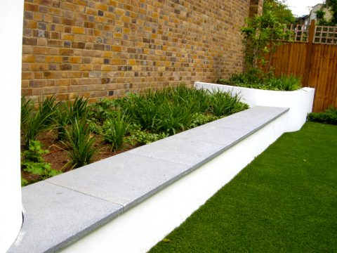 Davis Landscape Architecture Belsize Park London Residential Landscape Architect Raided Planter Podium Deck