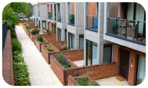 Davis Landscape Architecture Finchley Road Barnet London Residential Landscape Podium Deck Private Patios Icon