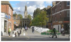 Davis Landscape Architecture - Liverpool Grove London Public Realm Landscape Feasibility Study Visualisation Icon