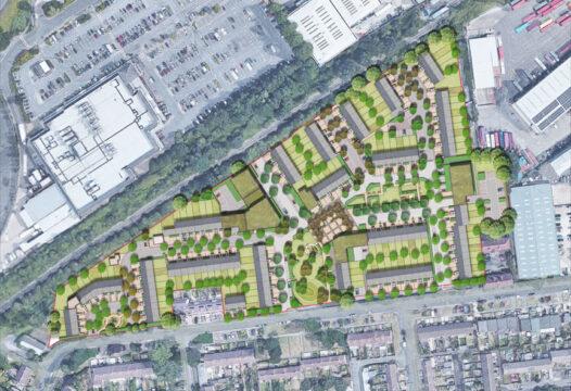 Davis Landscape Architecture Oxford Greyhound Stadium Residential Landscape Architect Rendered Masterplan Home Zone