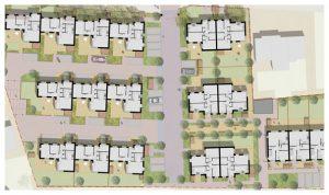 Davis Landscape Architecture Albyns Close London Residential Landscape Architect Render Masterplan Planning Icon