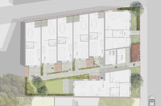 Davis Landscape Architecture Ashby Road Lewisham London Residential Landscape Architect Render Plan Planning