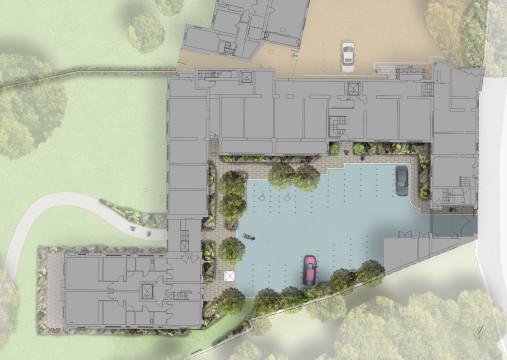 Davis Landscape Architecture Holcombe House London Residential Landscape Architect Design Rendered Detailed Plan Planning