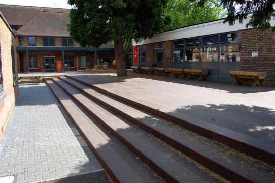 Davis Landscape Architecture 3 Stanley Primary School London Landscape Complete Court Yard Steps