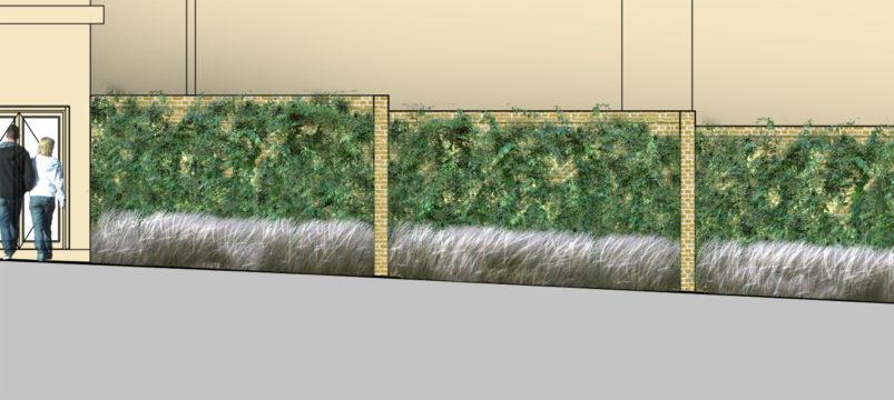 Davis Landscape Architecture Chequers Court Huntingdon Public Realm Landscape Architect Elevation Planning A