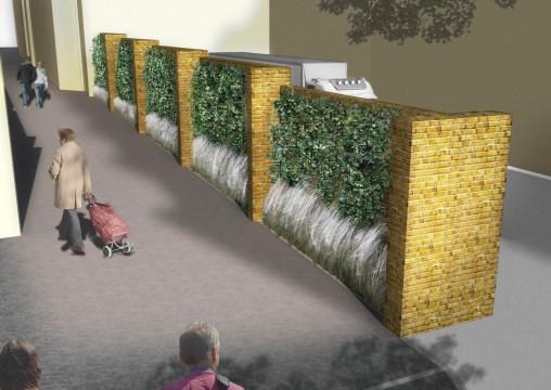 Davis Landscape Architecture Chequers Court Huntingdon Public Realm Landscape Design Architect Visualisation Planning
