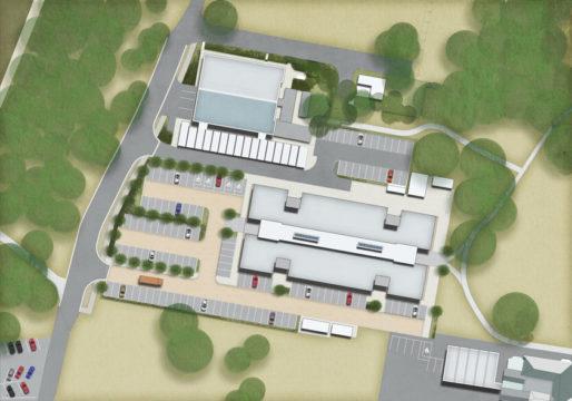 Davis Landscape Architecture Chesterford Research Park Science Village Commercial Landscape Plan