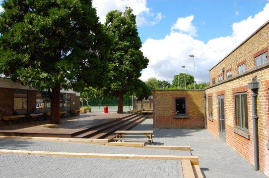 Davis Landscape Architecture Stanley Primary School London Landscape Complete Court Yard
