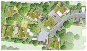 Davis Landscape Architecture 1 Tyson Road London Residential Landscape Rendered Masterplan Icon