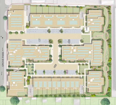 Davis Landscape Architecture Sarena House Silver Works Residential Landscape Design Architect Rendered Masterplan Planning