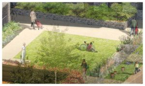 Davis Landscape Architecture Watts Grove London Residential Landscape Play Area Courtyard Visualisation Planning Icon