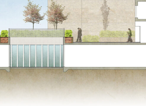 Davis Landscape Architecture Chadwell Street Residential Landscape Architect Design Rendered Site Section Planning B