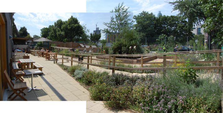 0302 Davis Landscape Architecture Vauxhall City Farm Lambeth Public Space Landscape Architect Design Planning Tender Construction Complete 2