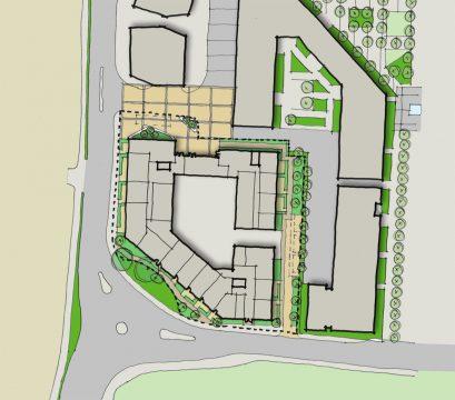 0404 Davis Landscape Architecture Former Honda Garage Southall Ealing London Residential Landscape Architect Design Detailed Planning Sketch Plan