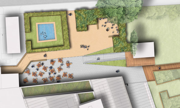 Davis Landscape Architecture Vauxhall City Farm Lambeth Public Space Landscape Architect Design Planning Plan Render