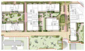 Davis Landscape Architecture Gascoigne West Barking London Residential Masterplan Landscape Architect Design Outline Planning Rendered Icon