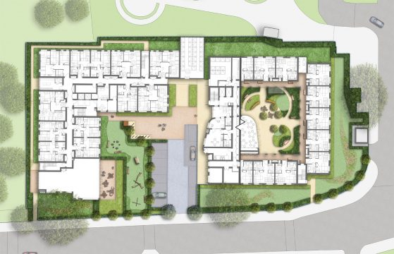 Davis Landscape Architecture Knowles House Brent London Residential Masterplan Landscape Architect Design Detail Planning Rendered