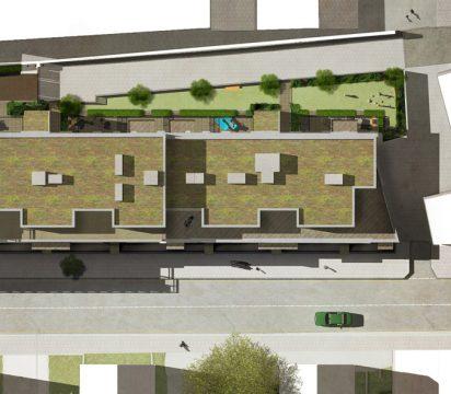 Davis Landscape Architecture Harper Road Borough Residential Podium Deck Roof Garden Landscape Architect Design Planning Construction Detail R