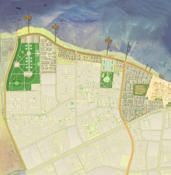 Davis Landscape Architecture Al Wakrah Waterfront Competition Qatar Masterplan Landscape Architect Masterplan A